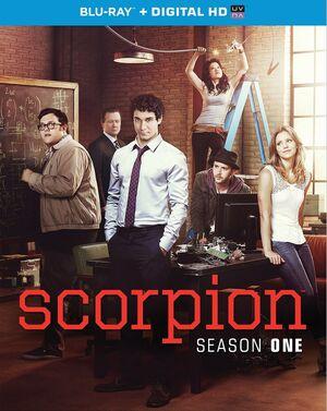 Scorpion Season 1 Blu-ray cover