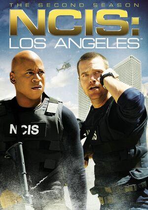 NCIS Los Angeles Season 2 DVD cover