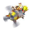 Jak and Daxter on the A-Grav Zoomer promo render.png