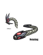 Metal slug concept art