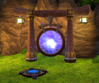 Teleport gate from TPL
