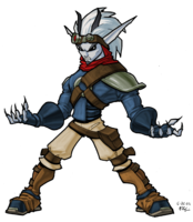 Dark Jak from Jak II concept art