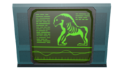 Mutant ape monitor