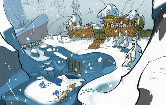File:Snowy Mountain concept art.png