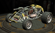Sand Shark race car screen