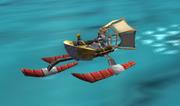 Speedboat screen