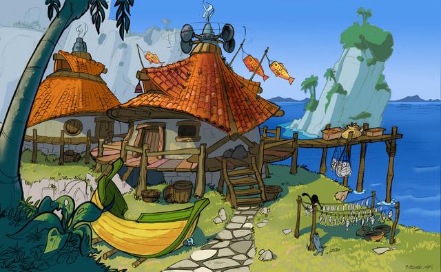 File:Sandover Village concept art 2.png