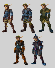 The Lost Frontier armor concept art