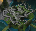 Forbidden Jungle race track map.png