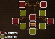 Sky Raider customization menu
