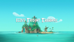 Izzy's Trident Treasure titlecard