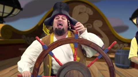 Jake and the Never Land Pirates Pirate Band Sea Legs Disney Junior Official