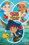 Disney Captain Jake - Group Poster
