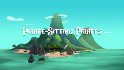 Pirate-Sitting Pirates titlecard