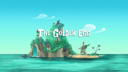 The Golden Egg title card