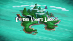 Captain Hook's Lagoon titlecard
