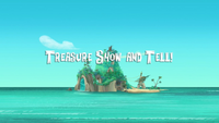 Treasure Show and Tell titlecard