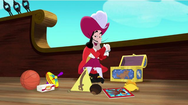 File:Hook on Treasure show and tell day.jpg