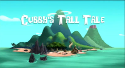 Cubby's Tall Tale titlecard