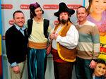 Disney's Sean Cocchia with Sharky& Bones