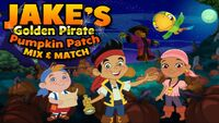 JAKE And The Neverland Pirates - Golden Pirate Pumklin Patch
