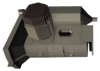 Component engine ramshackle brown