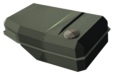 Green Stout Fuel Tank