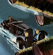Bond chasing Drax