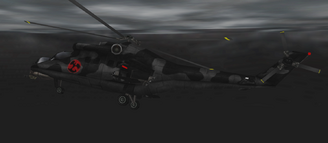 Mil Mi-24 helicopter (Nightfire, PC) 1