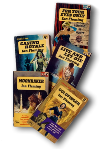 File:Pile of Bond Books - Fleming.png