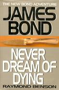 Never Dream of Dying (2001 Putnam hardback)