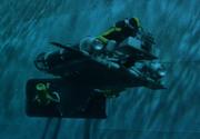 Underwater hatch - Flying Saucer