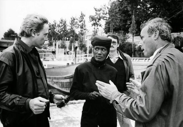 File:Walken, Glen and Jones on location in A View to a Kill.jpg
