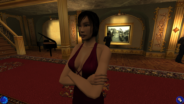File:Kiko during the party (Nightfire, PC).png