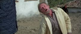 For Your Eyes Only - Kristatos gets knifed by Columbo.