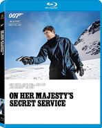 On Her Majesty's Secret Service (2015 Blu-ray)