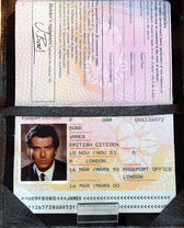 JamesBondPierceBrosnanPassport