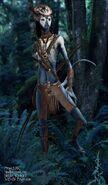 Neyteri WarriorPaint