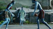 Avatars playing basketball 2