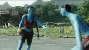 Avatars playing basketball