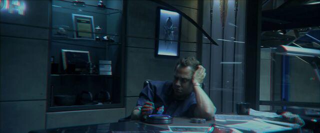 File:Parker Selfridge in his office (red-cyan).jpg