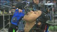Zoe Saldana drinking scene