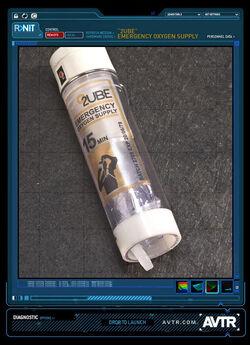 Tube Emergency Oxygen Supply