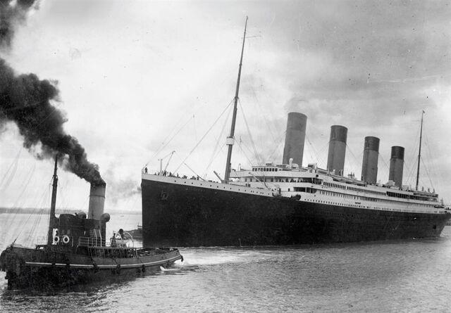 File:Titanic set sails.jpg