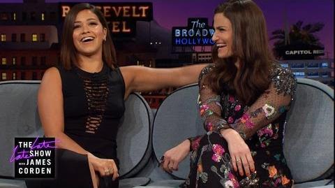 Virginity Talk w Idina Menzel & Gina Rodriguez