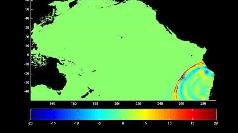 Tsunami Model of the 2010 Chile Quake 2-27-10 (HD)