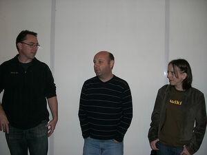 John, Gil and Angela