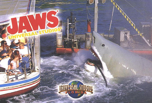 Image Universal Studios Jaws Post Card Jpg Jaws Wiki