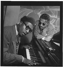 Thelonious monk and howard mcghee mintons playhouse sept 1947 gottlieb 10248-f28