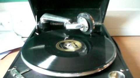 Tiger Rag by Bix Beiderbecke and the Wolverines, Brunswick 02205-B on my Columbia Grafonola 109a
